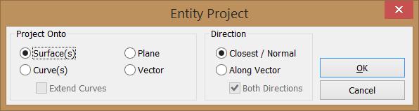 Proyectar Puntos/Nodos