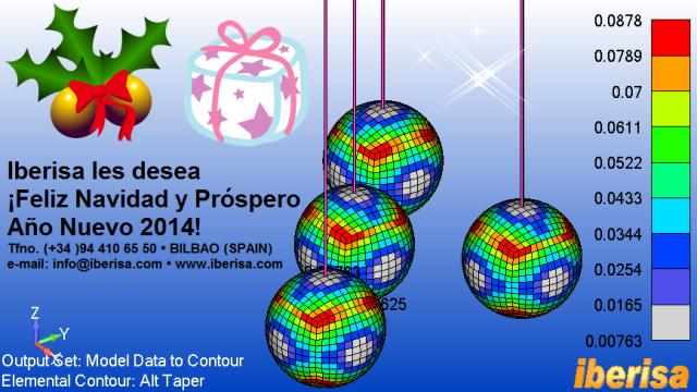 IBERISA les desea ¡¡Feliz Navidad y Próspero Año Nuevo 2014!!