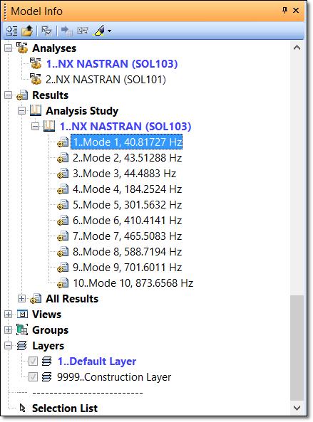 model-info-tree